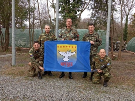 "Participation of SEEBRIG HQ personnel in ""EURASIAN STAR 19"" Exercise"