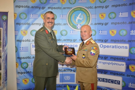 COMSEEBRIG's participation in MPSOTC 20th Anniversary Ceremony, 29 Jan 19, Kilkis/Na3