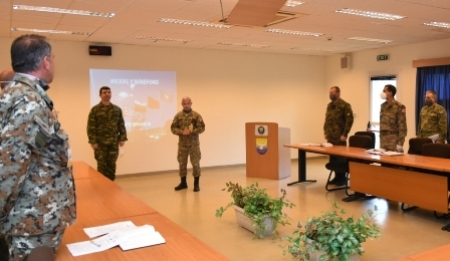 New Chief of Staff of SEEBRIG assignment on 29 April 2020, Tyrnavos/Larissa Na-3