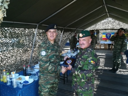 "Participation of COMSEEBRIG and Chief of Staff of SEEBRIG in DV day of LIVEX ""PARMENION 2017"" Didymoteicho, Na3, 6 October 2017"
