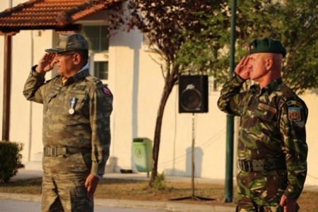 Handover-Takeover (HOTO) Ceremony of South Eastern Europe Brigade (SEEBRIG) Commandership 23 August 2017, Tyrnavos/ Na3