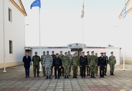 SEEBRIG HQ Visit to Na-3 EU Operational HQ