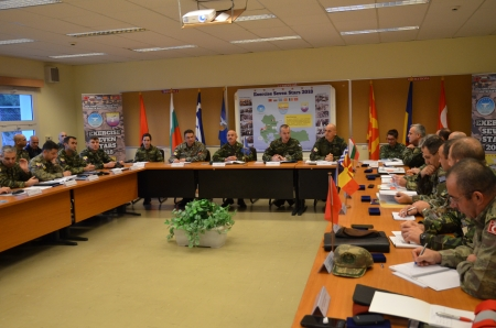 "Initial Planning Conference for ""Seven Stars 2018"" Exercise Tyrnavos, 24 – 25 Jan 18"