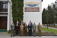 SEEBRIG Commander visit to Regional Arms Control Verification and Implementation Assistance Centre (RACVIAC), 25 February 2020, Zagreb, Croatia