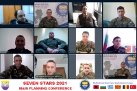 "Main Planning Conference for Exercise ""SEVEN STARS 21"" (VTC), 21 January 2021"