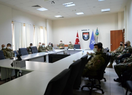 Participation of SEEBRIG personnel in Initial Planning Conference (IPC) for exercise ON GUARD 21 in NRDC-T, Instanbul/Na-7, 24-25 February 2021