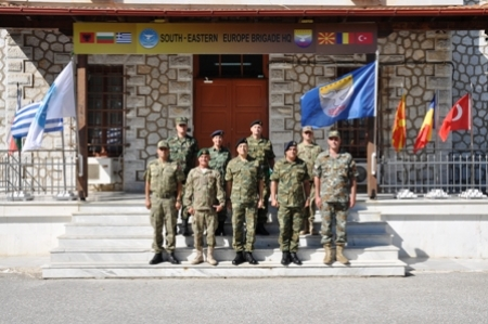 Visit of the Chief of HAGS to SEEBRIG HQ, 5 Sep 18, Tyrnavos/Larissa, Na 3