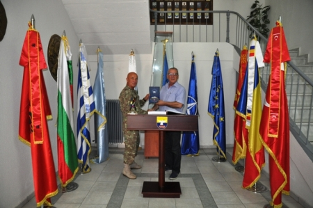 Official visit of Local Authorities, Mayor of Tyrnavos – Chief's of Fire and Police Department's of Larissa to SEEBRIG HQ, 18th and 24th July 2018