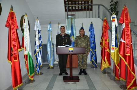 Visit of the COS NRDC-T to SEEBRIG HQ, Tyrnavos, 20 Mar 2017