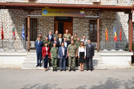 Visit of IMIHO (Interconnection of Military Hospitals) to SEEBRIG HQ for the 9th Technical Working Group Meeting, 23 May 2018