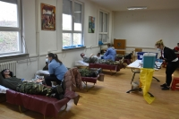Blood Donation Activity of SEEBRIG HQ, Kumanovo Barracks, Na-5, 19 February 2021
