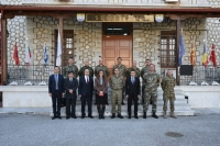 Consul General of Republic of Turkey in Thessaloniki paid an official visit to SEEBRIG HQ, on 25 February 2020, in Tyrnavos/Na-3
