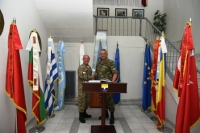 Official visit of LTG Konstantinos FLOROS, Commander of 1st Hellenic Army to SEEBRIG HQ, 25th June 2019, Tyrnavos/Na 3